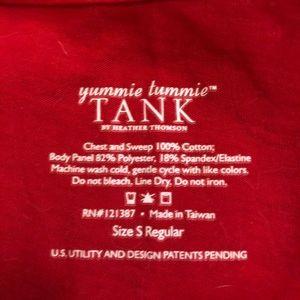 yummie tummie Tops - Red tank